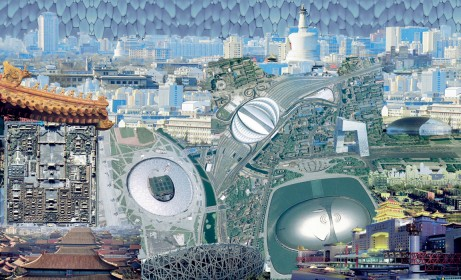 Wallpaper from the cityscapes collection