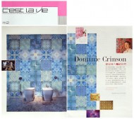 Cest La Vie (Inside cover spread) press cutting