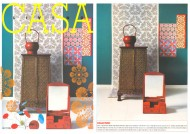 Casa Living Front Cover press cutting