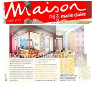 Maison Marie Claire press cutting