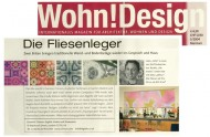 Wohn!Design press cutting