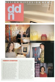 ddn Design Diffusion News press cutting