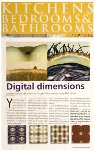 Kitchen Bedrooms & Bathrooms press cutting