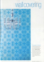 Interior Design Magazine press cutting