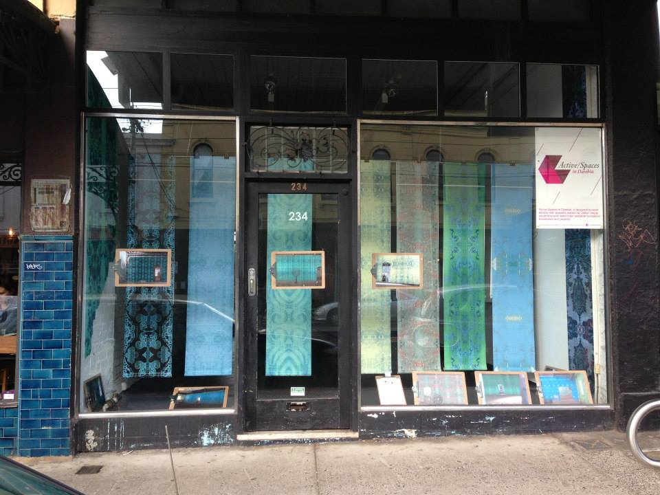Shop window wallpapers northcote melbourne