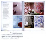 The Cutting Edge of Wallpaper by Timothy Brittain-Catlin press cutting
