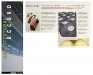 Architectural Record press cutting