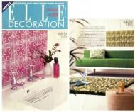 Elle Decoration press cutting