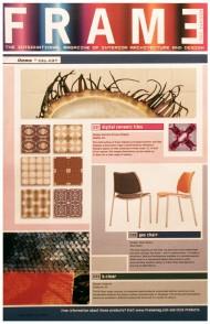 Frame Magazine press cutting
